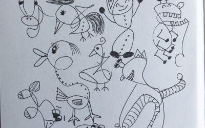 Doodle hier doodle daar…